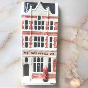 Victorian Post Office Handmade Ceramic Wal…